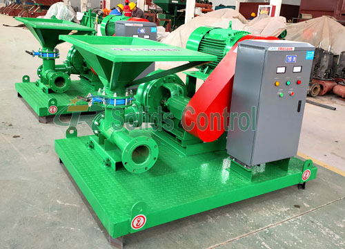 Shear Type Jet Mud Mixer for Subway Construction Site